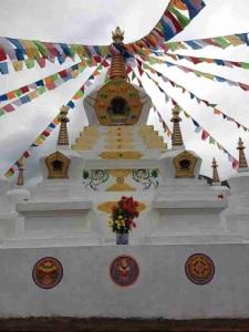 Stupa in Rigul Tibet
